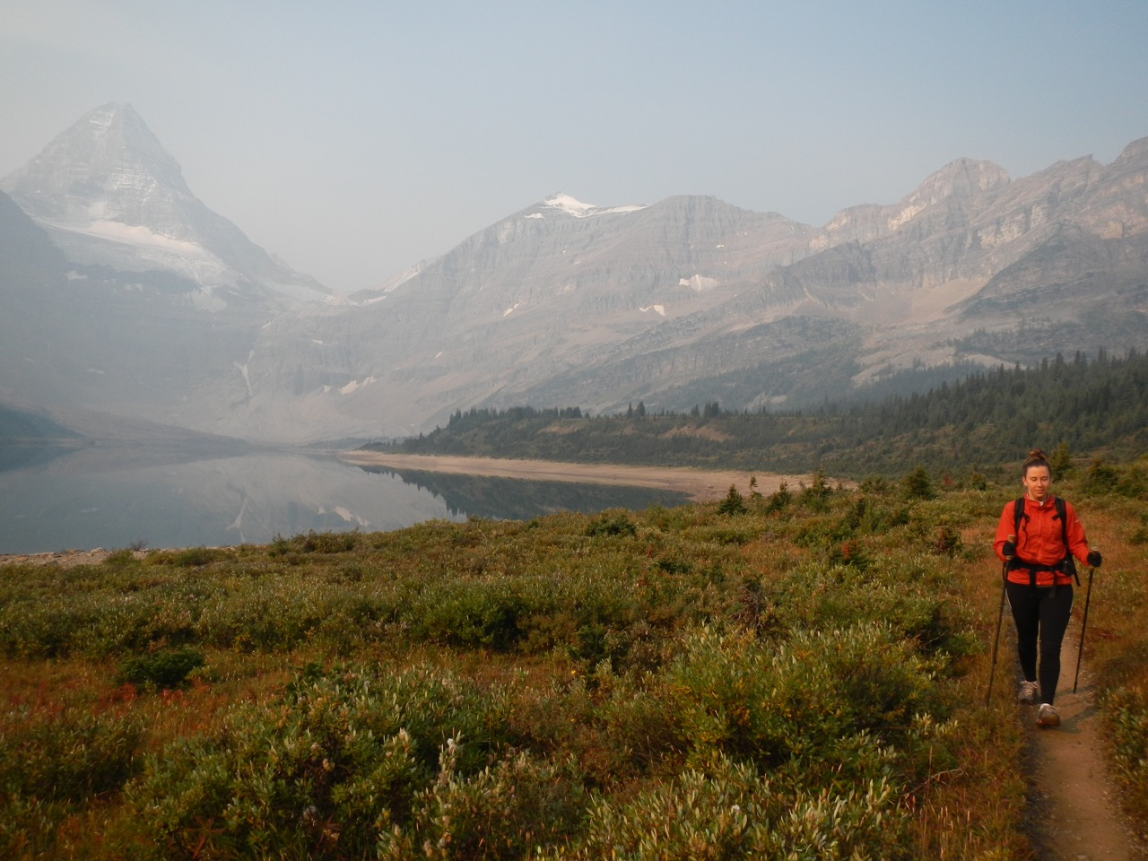 Section hiking part of the GDT two summers ago - Mt. Assiniboine
