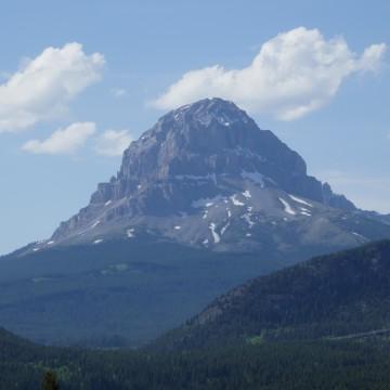 Crow's Nest Peak, Coleman AB